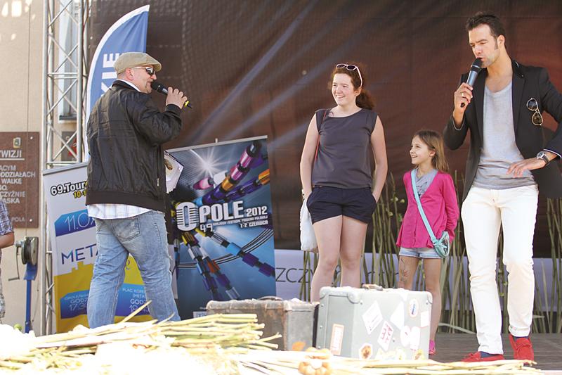 Konkursy na scenie - Jacek Kaczor i Conrado Moreno