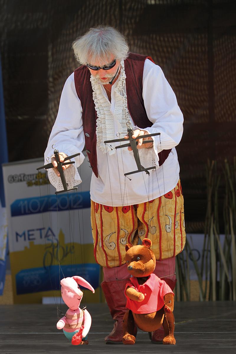 Pokaz Teatru Lalki i Aktora w Opolu