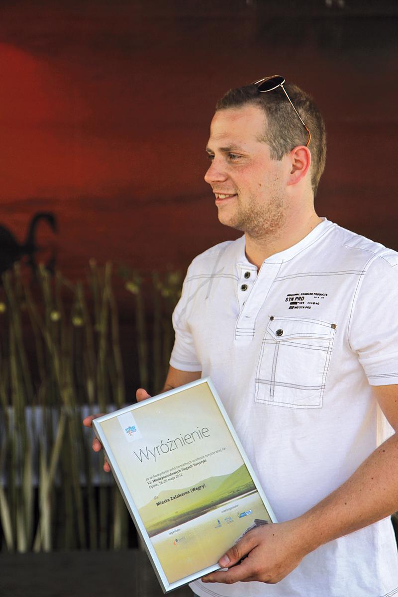 Uroczyste wręczanie nagród oraz wyróżnień wystawcom XII Międzynarodowych Targów Turystyki W Stronę Słońca - Węgry