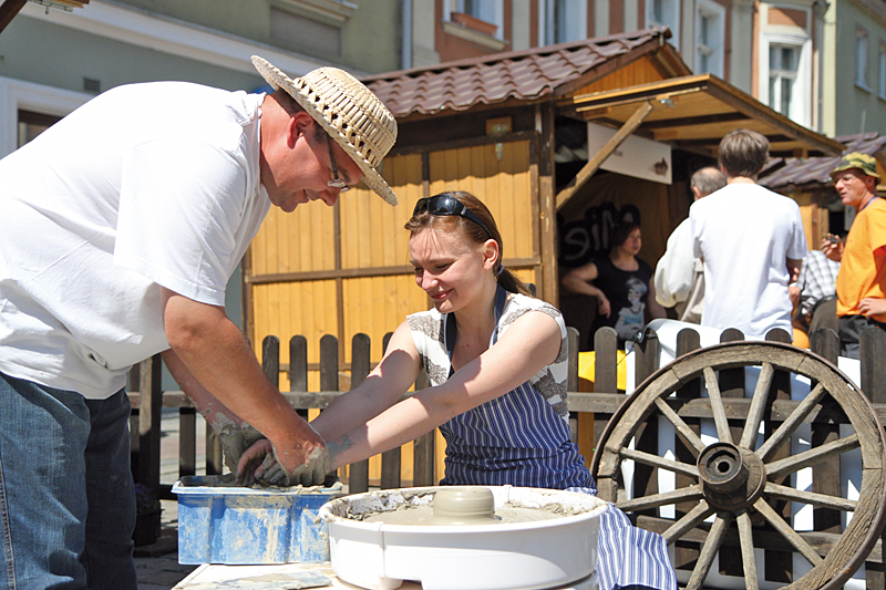 Warsztaty ceramiczne w Opolskiej wiosce smaków i tradycji
