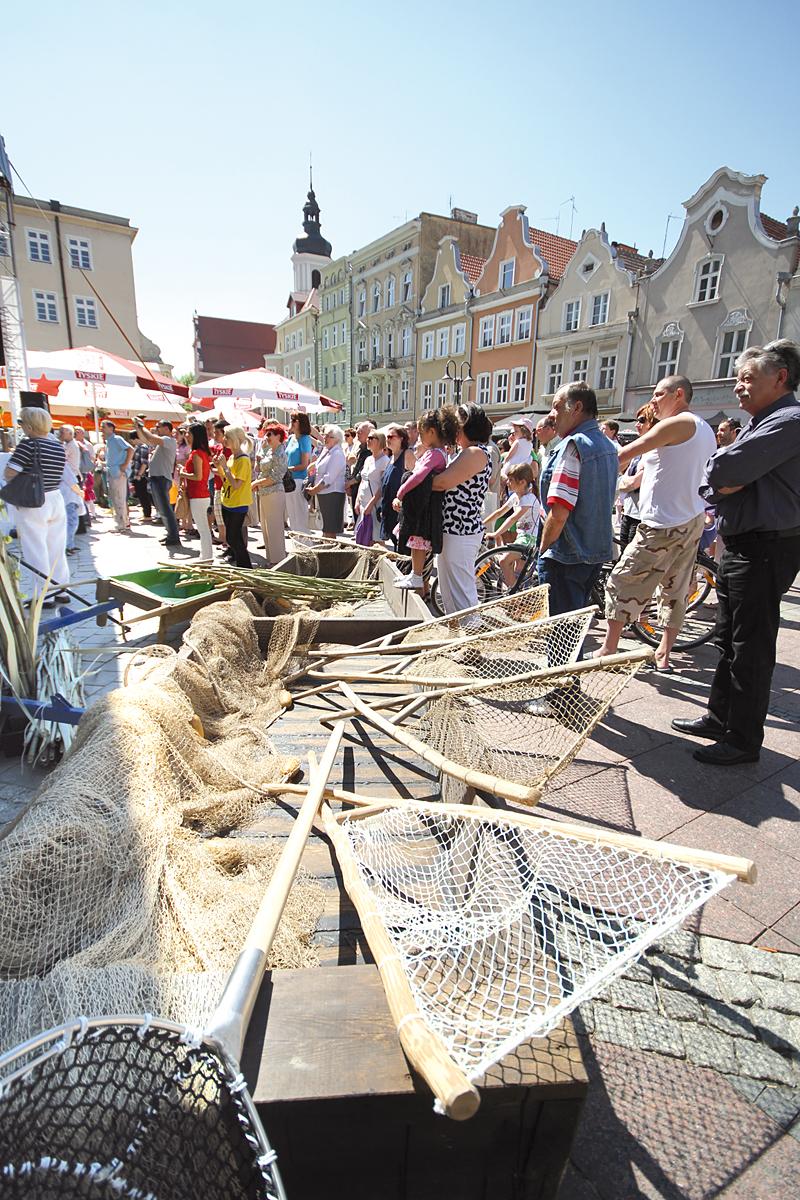 Wioska rybacka na targach