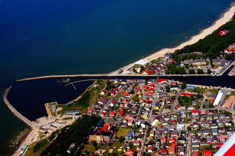 Darłowo wejscie do portu Fot. R.Pietrasz