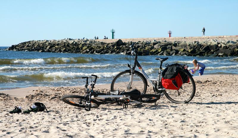 Rowery na olazy Fot. M.Burduk