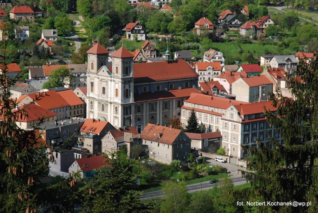 Bazylika Mniejsza wraz z Klasztorem 2 - fot. Norbert Kochanek
