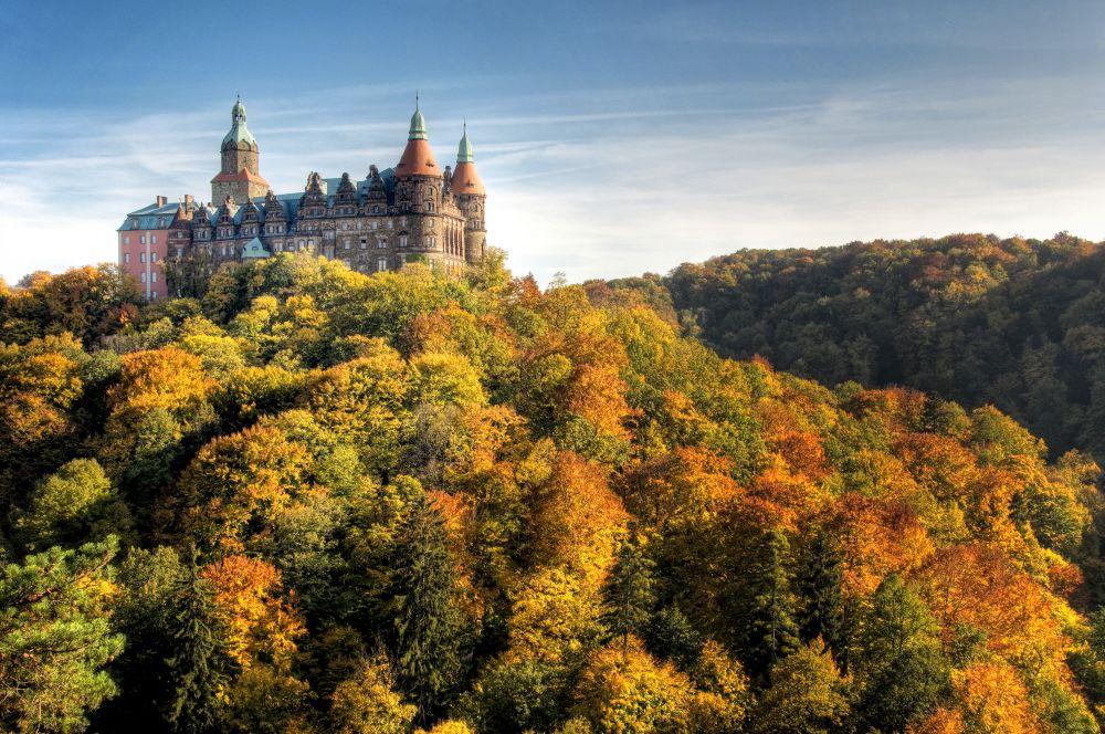 Zamek Książ male