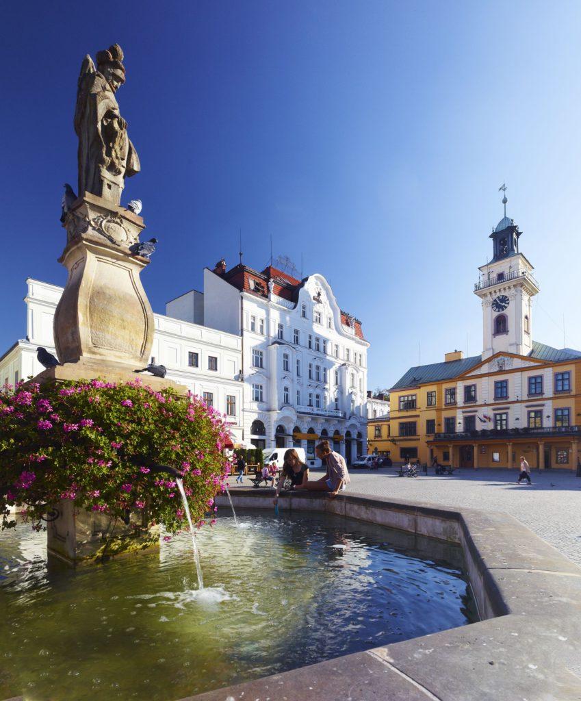 Cieszyn Rynek2 fot.ŚOT www.slaskie.travel