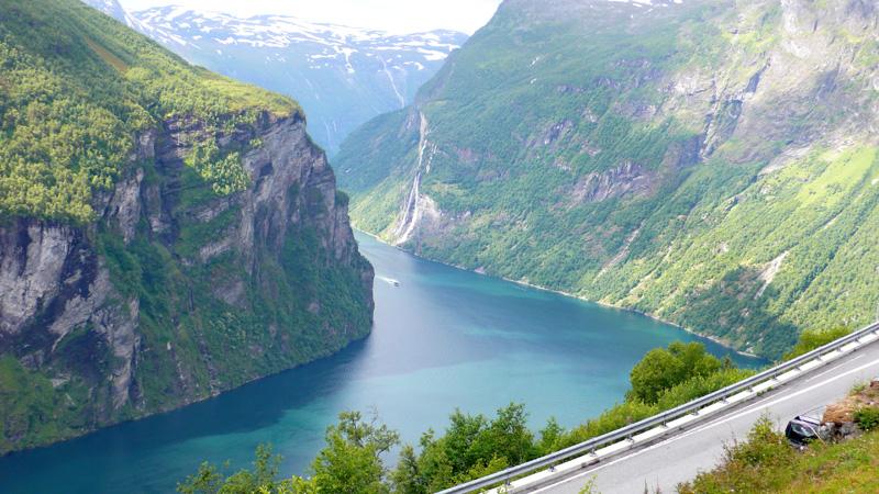 Słezion_Geirangerfjord_Fiord_Geiranger